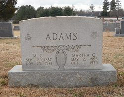 M C Adams