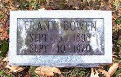 Frank Lloyd Bowen