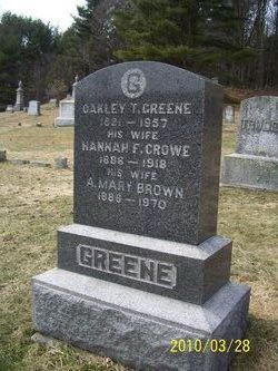 A. Mary <i>Brown</i> Greene