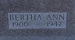 Bertha Ann <i>Hansel</i> Cain