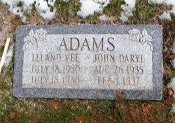 Leland Vee Adams