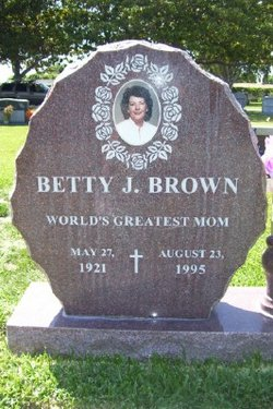 Betty Mary <i>Johnston</i> Brown