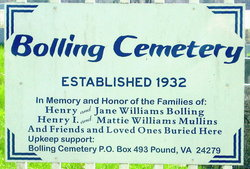 Bolling Cemetery