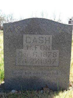 William Fonzo Cash