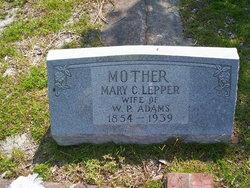 Mary Catherine Katie <i>Lepper</i> Adams