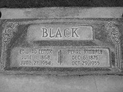 Edward Lenox Black
