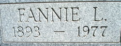 Fannie Lee <i>Conner</i> Bone