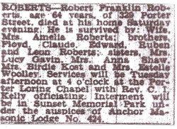 Robert Franklin Bob Roberts