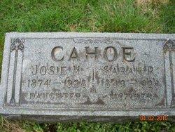 Sarah Ruth <i>Rawlings</i> Cahoe