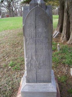 B. J. Baldwin