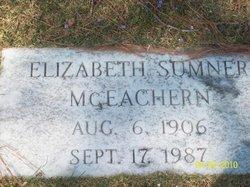 Elizabeth <i>Ewing</i> McEachern