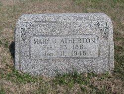 Mary Catherine <i>Taylor</i> Atherton