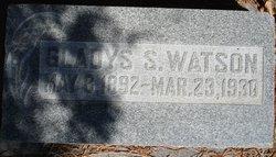 Gladys M <i>Stratford</i> Watson