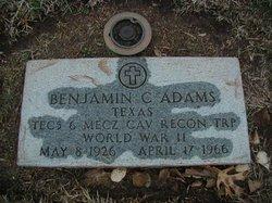 Benjamin Cody Benny Adams