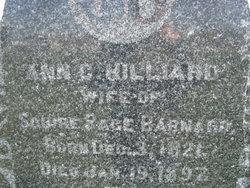 Ann Charlotte <i>Hilliard</i> Barnard
