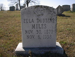 Eula Lee (Ender) <i>Dobbins</i> Miles