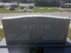 Willie Kate <i>Haman</i> Evans