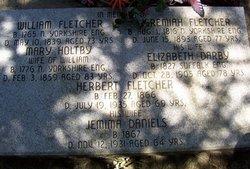 Mary <i>Holtby</i> Fletcher