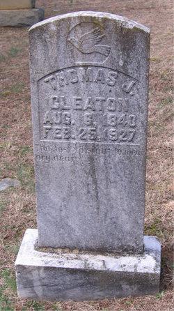 Pvt Thomas James Cleaton