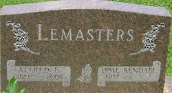 Alfred D Lemasters