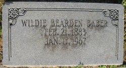 Wildie <i>Bearden</i> Baber