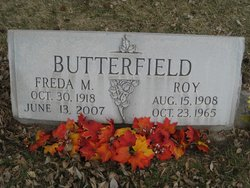Freda M <i>Lowe</i> Butterfield