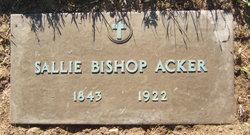 Sarah Ann Sallie <i>Bishop</i> Acker