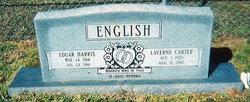 Nellie Laverne Sis <i>Carter</i> English