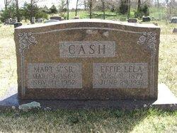 Effie Lela <i>Wall</i> Cash