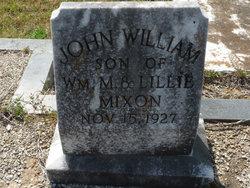 John William Mixon