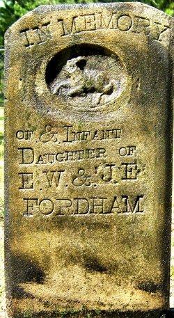 Daughter of F.W. &J.E. Fordham