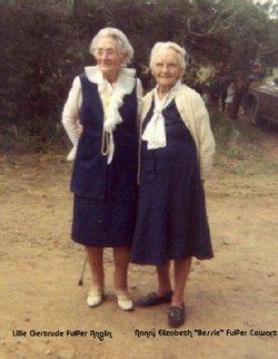 Nancy Elizabeth Bessie <i>Fulfer</i> Cowart
