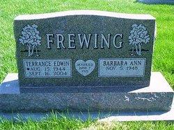 Terrence Edwin Frewing