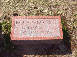 Paul Parker Cameron, Jr