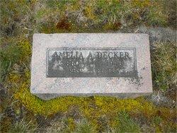 Amelia A <i>Curtis</i> Decker