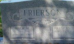 Mack Montgomery Frierson