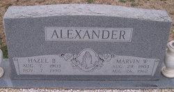 Hazel B Alexander