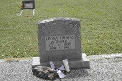 Leona <i>Thomas</i> Richards
