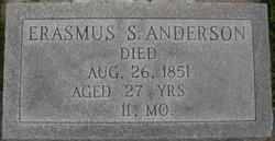 Erasmus S. Anderson