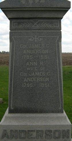 Col James C. Anderson