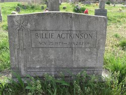 William Billie Actkinson