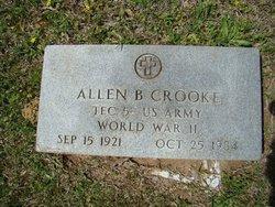 Allen Boyce Crooke