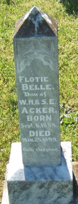 Flotie Belle Acker