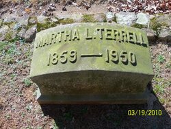 Martha L. <i>Gudger</i> Terrell