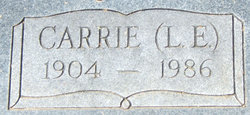 Lily E. Carrie <i>Parnell</i> Chitsey
