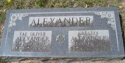 William Chester Chester Alexander