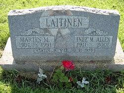 Inez M <i>Allen</i> Laitinen
