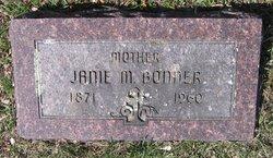 Janie M <i>Parker</i> Bonner