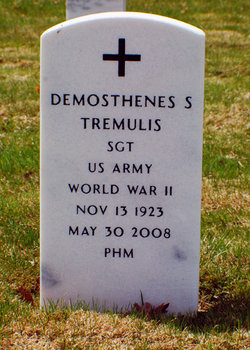 Sgt Demonthenes S Tremulis