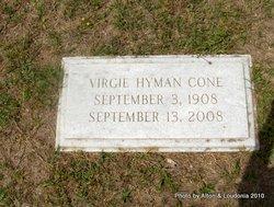 Virgie Hyman Cone